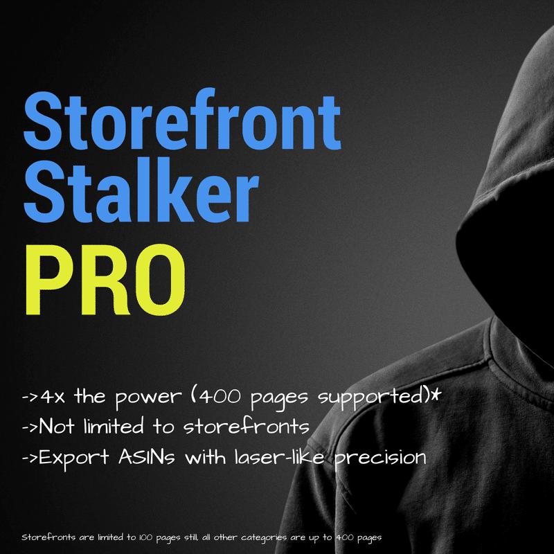 Storefront Stalker Pro